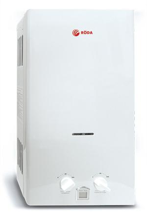 Газовый проточный водонагреватель RÖDA JDS20-A1