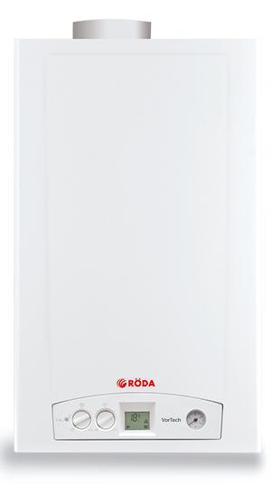 Газовый котел настенный RODA VorTech Duo OC24 (Atmo)