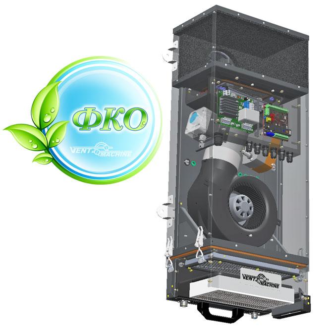 Приточная вентиляционная установка VentMachine V-STAT FKO 4A