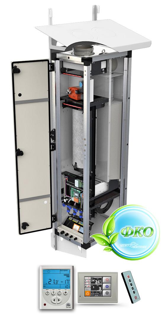 Приточная вентиляционная установка VentMachine ПВУ-350