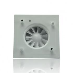 Накладной вентилятор SILENT-200 CRZ Silver DESIGN-3C с таймером