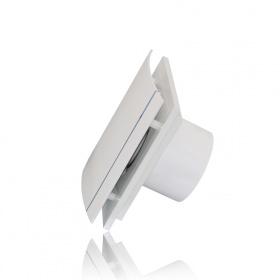 Накладной вентилятор SILENT-200 CHZ DESIGN-3C с таймером и датчиком влажности