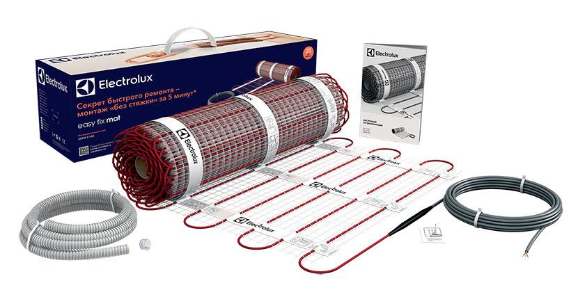 Комплект теплого пола Electrolux EEFM 2-150-6 (6 м2) серия EASY FIX MAT