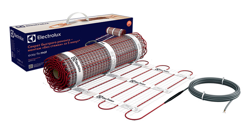 Комплект теплого пола Electrolux EEFM 2-150-10 (10 м2) серия EASY FIX MAT