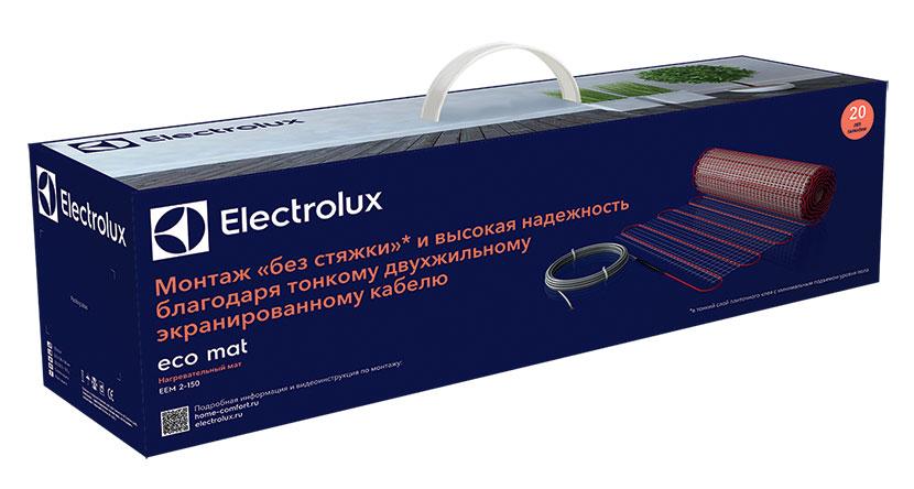 Комплект теплого пола Electrolux EEM 2-150-1,5 (1.5 м2) серия ECO MAT