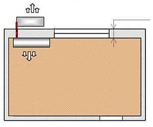 Схема № 1 монтаж настенной сплит-системы трасса до 3-х метров