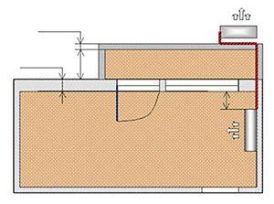 Схема № 9 монтаж настенной сплит-системы трасса до 7-ти метров