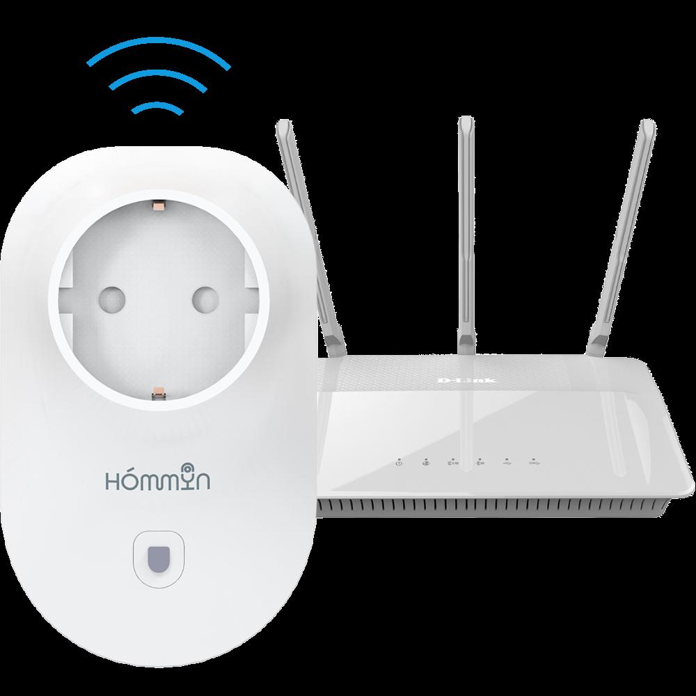 Умная Wi-Fi розетка Hommyn PL-20-W