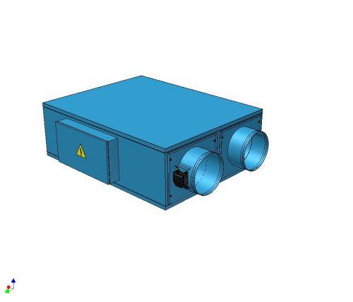 Приточно-вытяжная установка КЛИМАТ 031