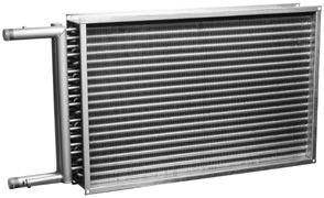 Воздухонагреватель водяной PBAS 500*300-3-2.5