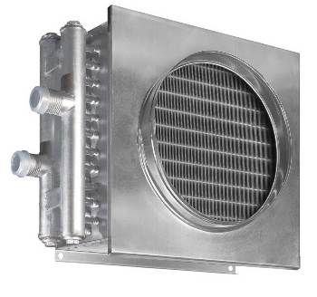 Воздухонагреватель водяной WHR 600*300-2