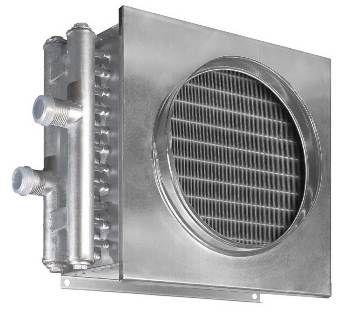 Воздухонагреватель водяной WHR 600*350-2