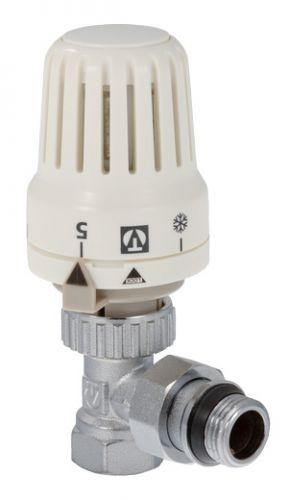 """Клапан термостатический с термоголовкой угловой 1/2"""" VT.047"""