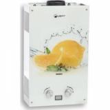 Газовый проточный водонагреватель WERT 10EG lemon