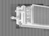 Воздухонагреватель водяной WHR 400*200-2