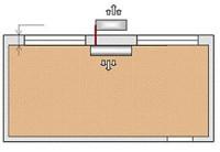 Схема № 2 монтаж настенной сплит-системы трасса до 3-х метров