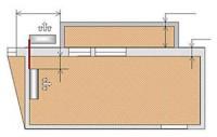 Схема № 7 монтаж настенной сплит-системы трасса до 5-ти метров